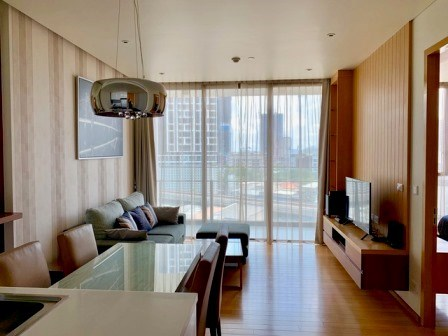 1 bedroom condo for rent at Aequa Sukhumvit 49 - Condominium - Khlong Tan Nuea - Thong Lor