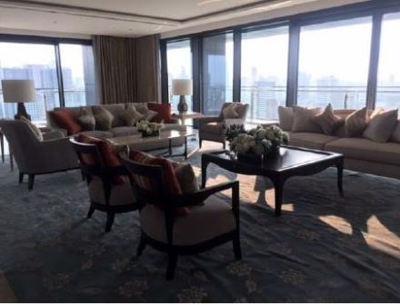 The Residences at St. Regis Bangkok 4 bedroom property for rent - Condominium - Lumphini - Ratchadamri