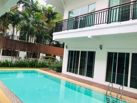 4 bedroom pool villa for rent on Sukhumvit 24 - House - Khlong Tan - Phrom Phong