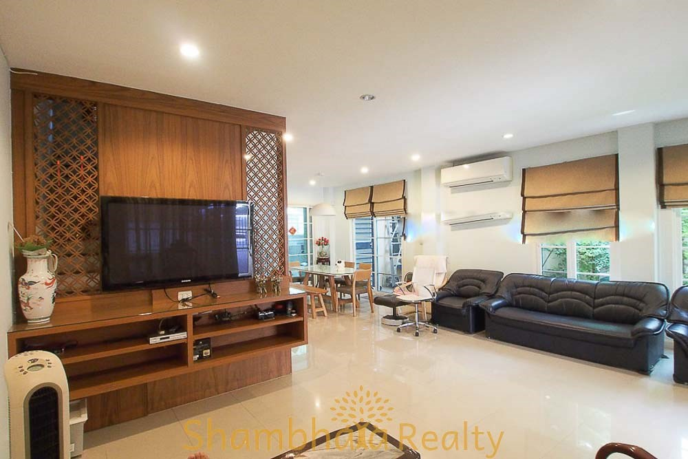 Urban Sathorn Compound Townhouse For Rent and Sale - Town House - Maha Nakhon -