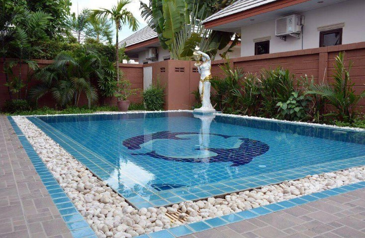 Dusit Park Pool Villa house for sale Pattaya - House - Jomtien East - Baan Amphur