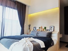 House for sale Huayyai Pattaya showing the master bedroom concept
