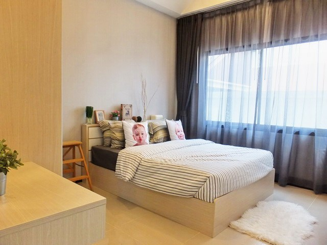House for sale Huayyai Pattaya showing the second bedroom concept